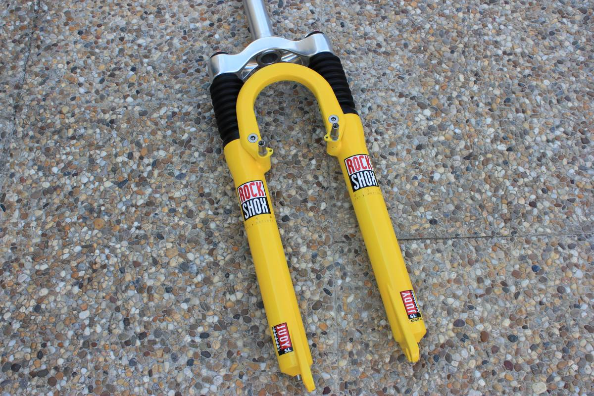 Rock Shox Judy SL 1995 – Original Yellow