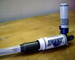 FOX Brain Shox Custom Tuning