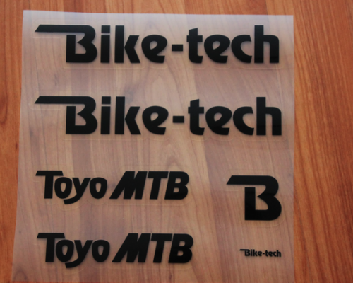 Bike-Tech Toyo MTB Decals/Nalepky