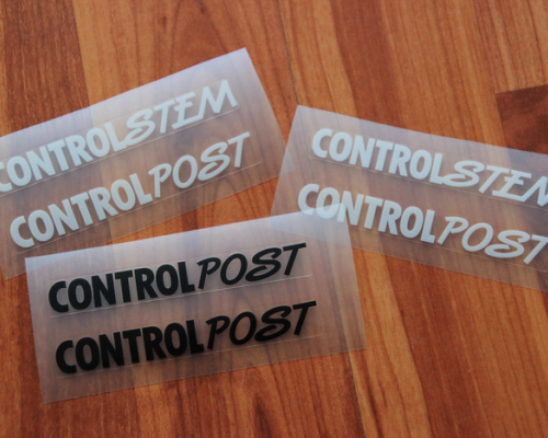 Control Tech Stem/Post Decals/Nalepky