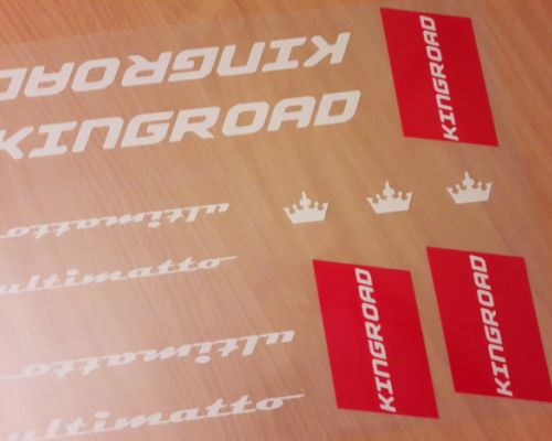 Kingroad Ultimatto Decals/Nalepky