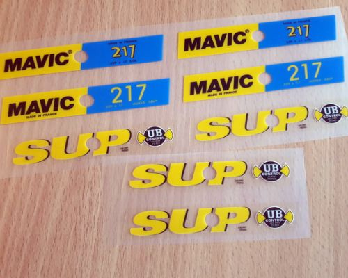 Mavic 217 SUP 1st 2nd Edition
