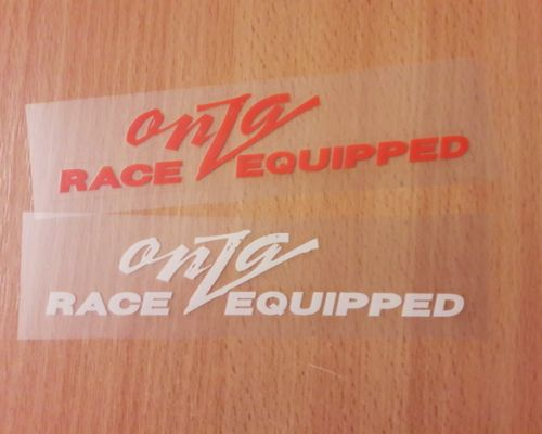 ONZA Race Equiped Decals/Nalepky