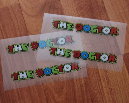 Valentino Rossi`s The Doctor Decals/Nalepky